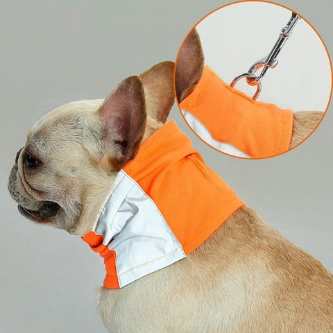 Safe Luminous Dog Reflective Collar Scarf