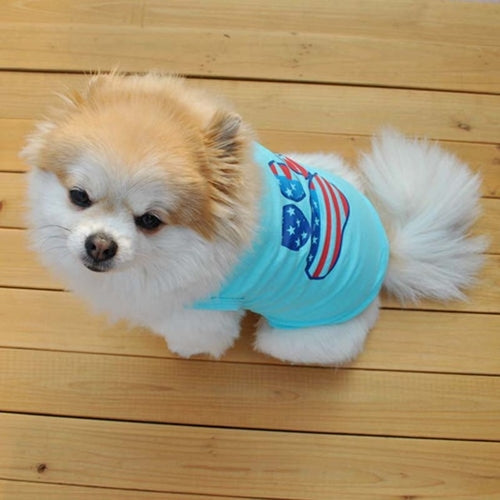 Summer Small Dog/  Cats Clothes -  Sport Pet Shop
