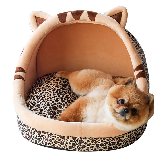 Warm Puppy House For Small Dog / Cat Sleeping -  Sport Pet Shop