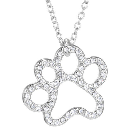 Pet Paw Memorial Necklaces