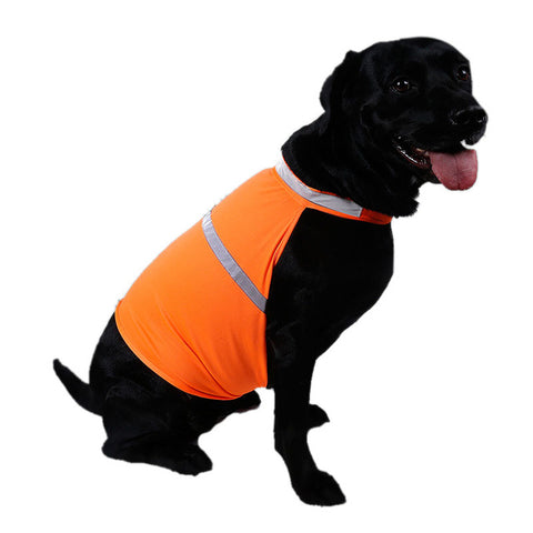 Image of Fluorescent Waterproof Security Dog Reflective Vest Clothes -  Sport Pet Shop