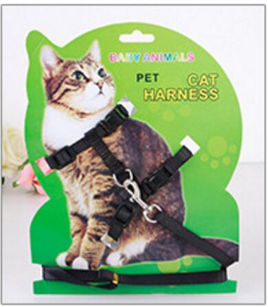 Image of 4 Colors Cat Harness And Leash -  Sport Pet Shop