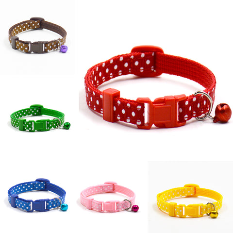 Dot Printed Little Dog/Cat Collars