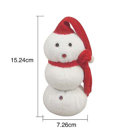 Image of Christmas Dog Toys /Snowman Shaped Sound Toys