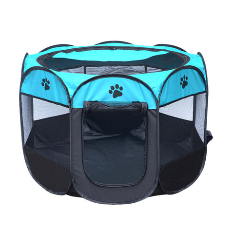 Portable Folding  Dog /Cat House Cage Playpen
