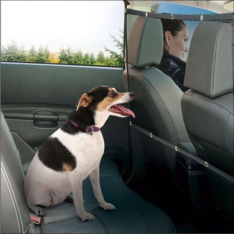 Pet Fence Anti-collision Car Seat Cover