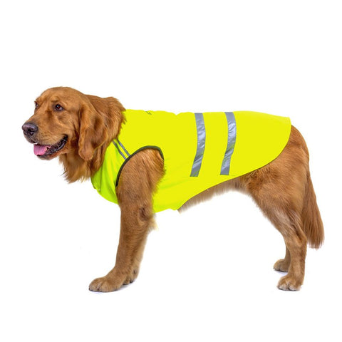 Reflective Dog Clothes Safety For Outdoor Walking