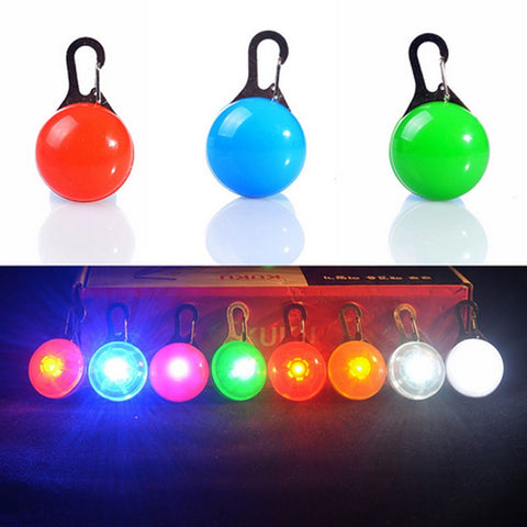 LED Pet Signal Light Flashing Cat/ Dog Collar Pendant -  Sport Pet Shop
