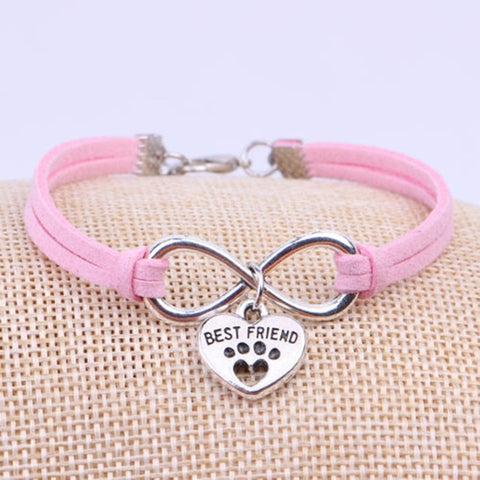 Image of Paw Cat Charms Pendant bracelet -  Sport Pet Shop