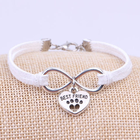Image of Paw Cat Charms Pendant bracelet
