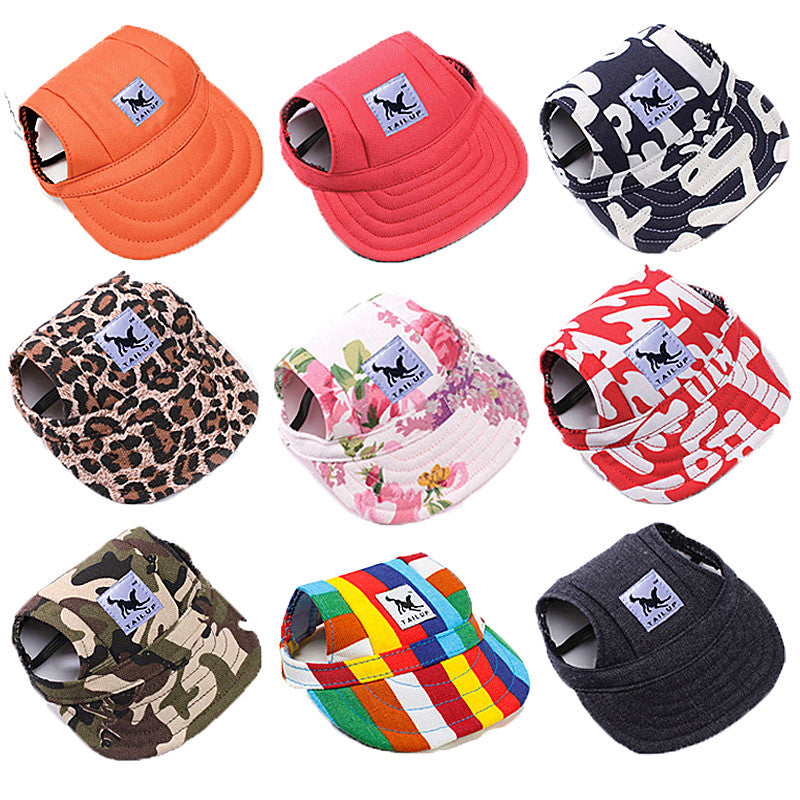 Fashion Casual Hat For Dogs -  Sport Pet Shop