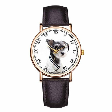 Image of Lovely Pet Style Watch Unisex Genuine Leather -  Sport Pet Shop