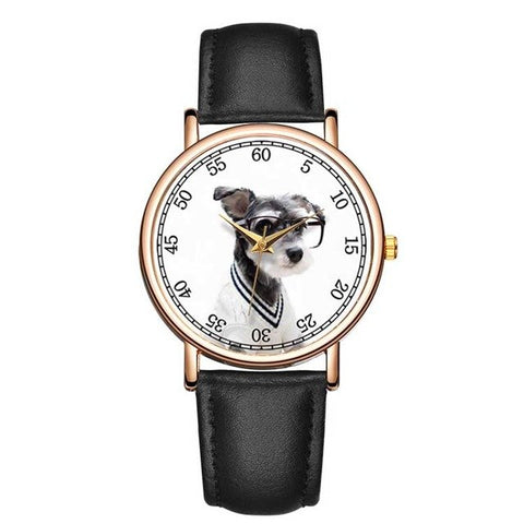 Lovely Pet Style Watch Unisex Genuine Leather