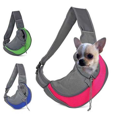 Image of Comfortable Dog Front Carrying Bags Mesh