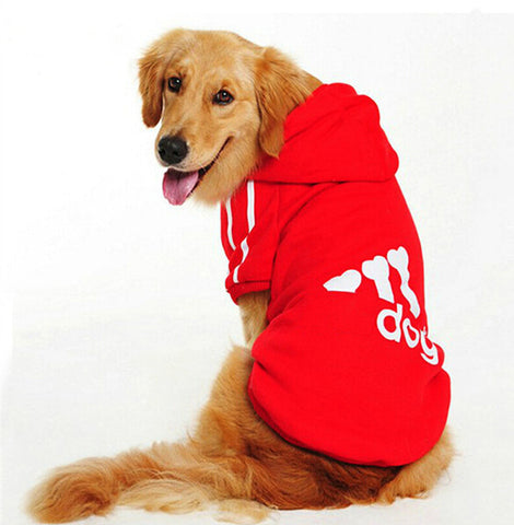 Large Size Dog Clothes for Big Dogs Golden Retriever