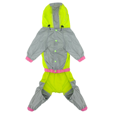 Waterproof Dog Raincoat Reflective Jacket -  Sport Pet Shop