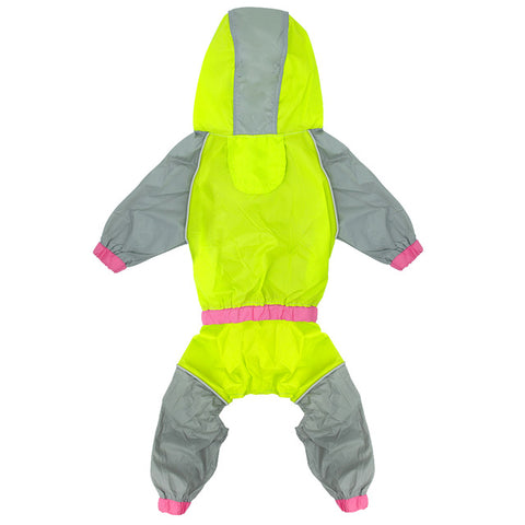 Waterproof Dog Raincoat Reflective Jacket