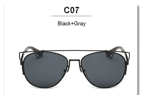 Image of Fashion Mirror Men or Women Sunglasses Cat Eye -  Sport Pet Shop