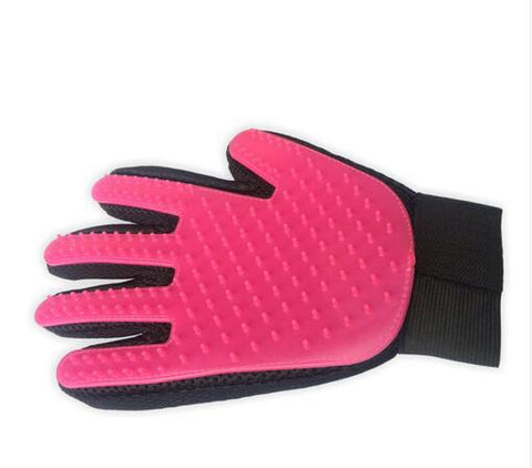 Image of Silicone Pet brush Glove for Grooming