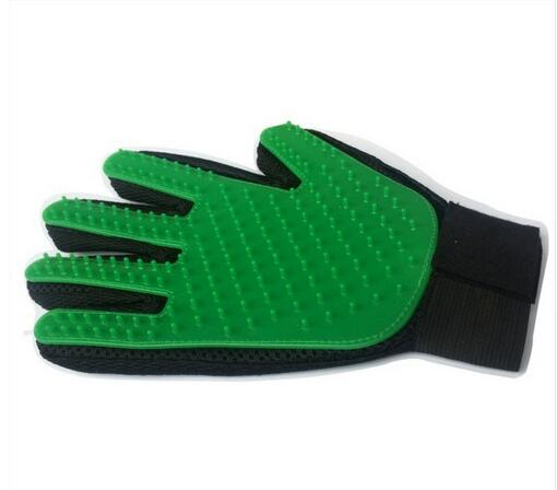 Silicone Pet brush Glove for Grooming
