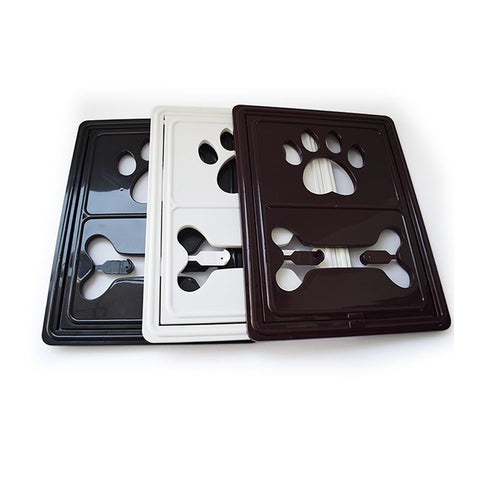 Lockable Magnet Control Dog Door / Security Flap Gates Pet Tunnel -  Sport Pet Shop