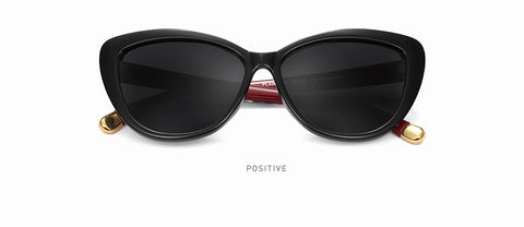 Image of Women Cat Eye Polarized Sunglasses / Retro Style