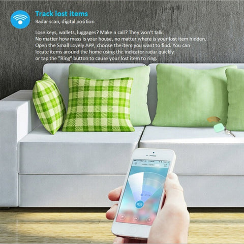 Mini Smart Finder Wireless Bluetooth Tracker Locator for Pet Security