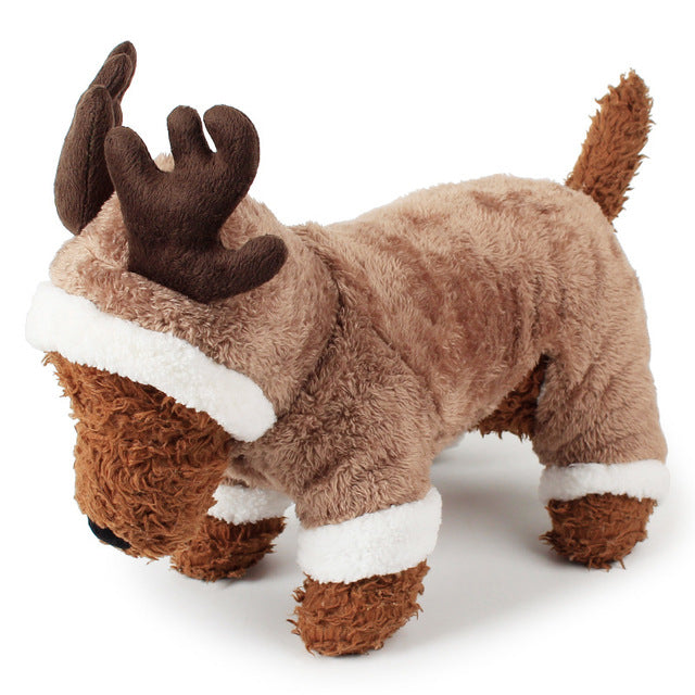 Cosplay Christmas Deer Pet Costume Clothes -  Sport Pet Shop