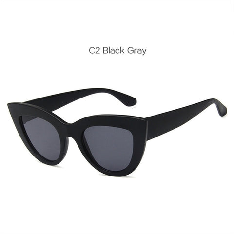 Image of Women Cat Eye Style Sunglasses Retro -  Sport Pet Shop