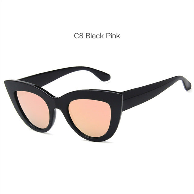 Women Cat Eye Style Sunglasses Retro -  Sport Pet Shop