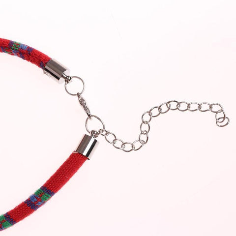Image of Christmas Santa Claus Bells Necklace collar -  Sport Pet Shop