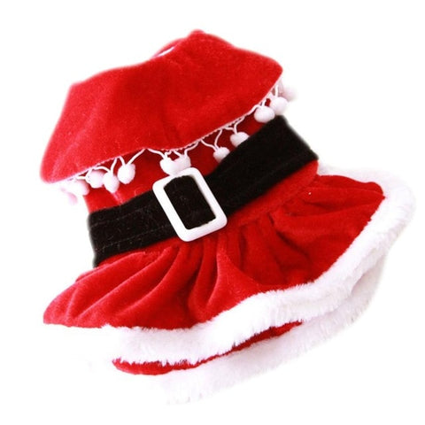 Image of Dog Dress Puppy Pets Clothing Christmas/ New Year -  Sport Pet Shop