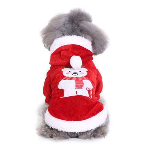 Image of Comfortable Dog Christmas Bear Clothes -  Sport Pet Shop