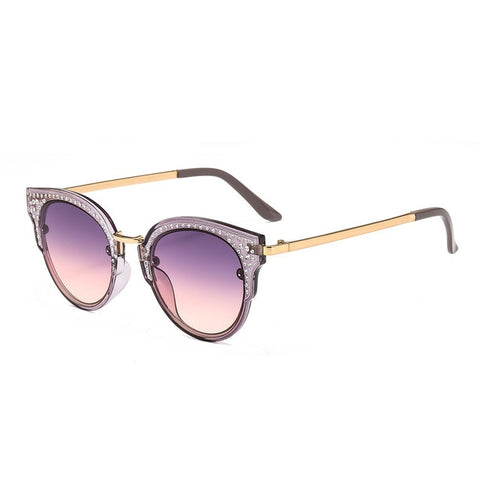 Image of Luxury Crystal Rhinestone Cat Sunglasses -  Sport Pet Shop