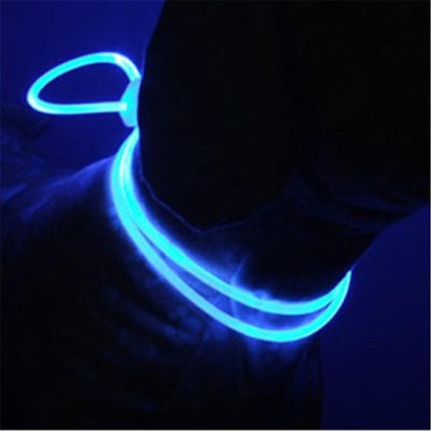 Image of 2019 New LED Pet Collar Luminous Adjustable / Water Resistant Flashing Light -  Sport Pet Shop