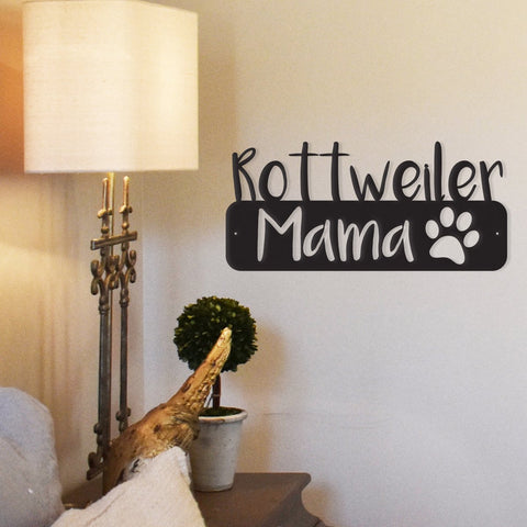 Dog Mama - Metal Wall Art -  Sport Pet Shop