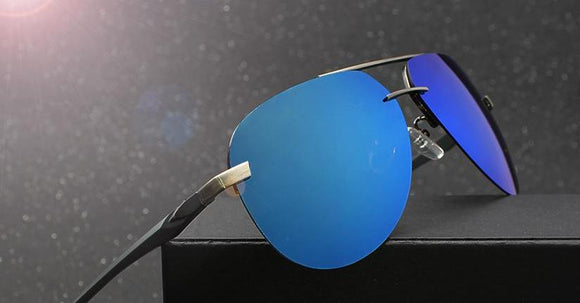 Magnesium Polarized Men Driver Mirror Sunglasses
