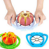 Kitchen Apple Slicer Corer Cutter Pear Fruit Divider Tool Comfort Handle for Kitchen Apple Peeler