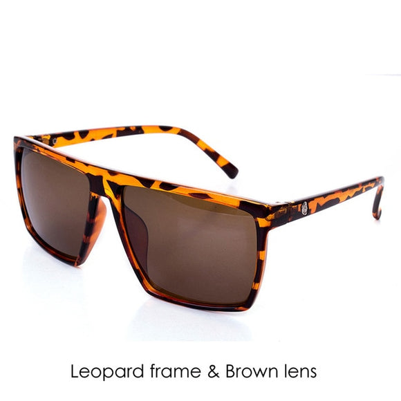 Mirror Photochromic Oversized Sunglasses