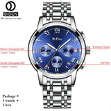 Luxury Mens Watches with Steel Strap