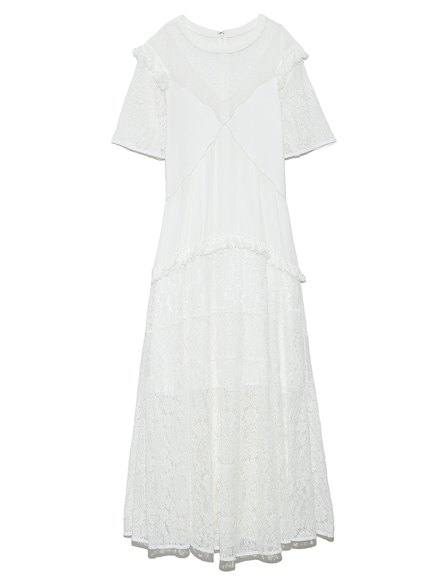 Variation Lace Long Dress (SWFO191051)