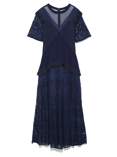 Variation Lace Long Dress