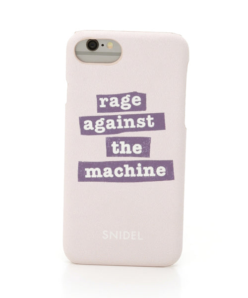 Rage Against the Machine x SNIDEL iPhone Case (SWGG184701)