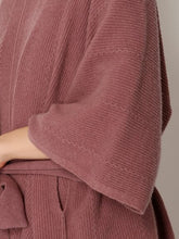Load image into Gallery viewer, Wool Poncho Knit Pullover
