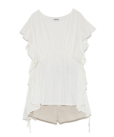 【ONE MILE Capsule Collection】Blouse and Shorts Set