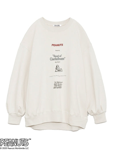 【SNIDEL meets PEANUTS】 Sweat shirt