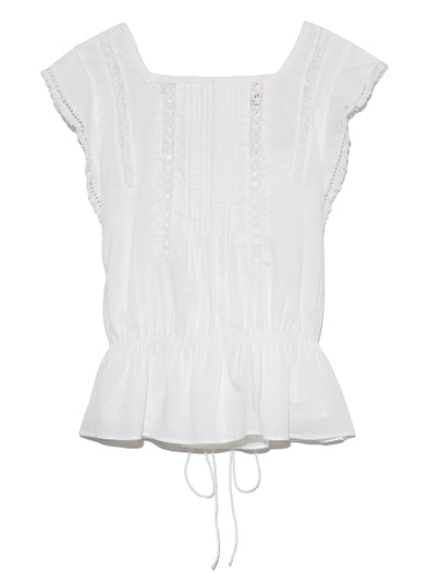 Cotton Lace Blouse