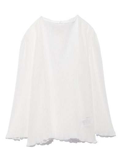 Pleated Sheer BL