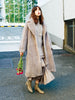 Boa Fur Long Coat