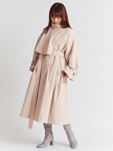 Stand Up Collar Trench Coat